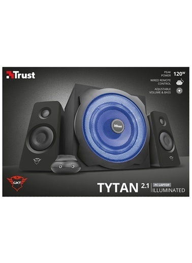 Trust Trust Gxt 628 Tytan Aydınlatmalı 2.1 Hoparlör Seti Renkli